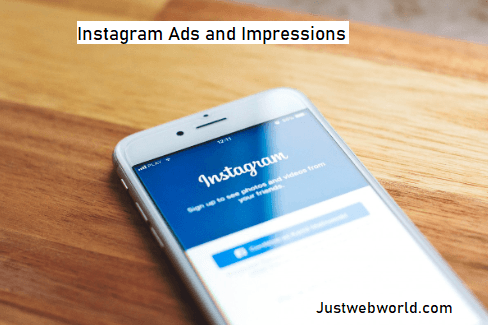 Instagram Ads and Impressions