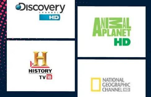 Lifestyle / Infotainment TV Channels