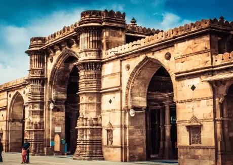 Jama Masjid - Mosque in Ahmedabad, Gujarat