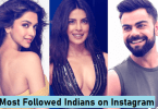 Most Followed Person on Instagram in India