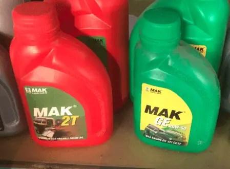 Lubricants | MAK Lubricants