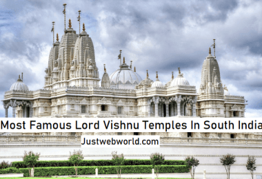 Lord Vishnu Temples in South India