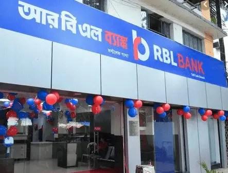 RBL Bank - Private banking company