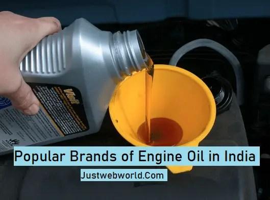 Best Motor Oil Brands In India