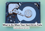 What to do when external hard drive fails