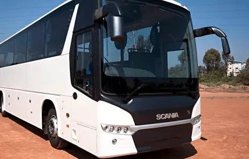 Scania bus India