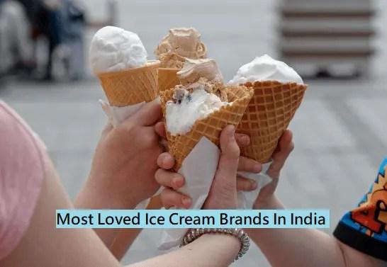 Most Popular Ice Cream Brands in India