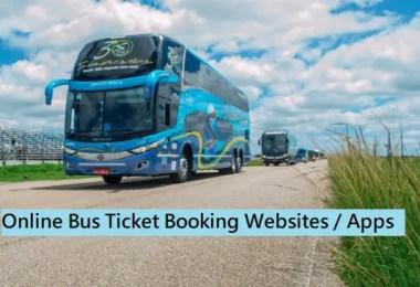 Best Online Bus Ticket Booking Websites
