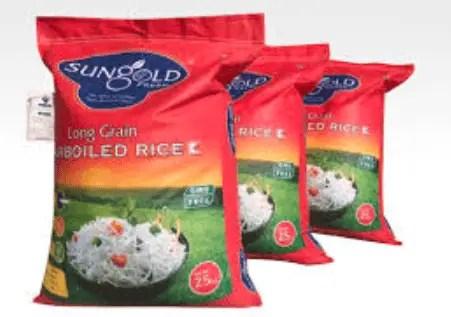 Sungold Basmati Rice