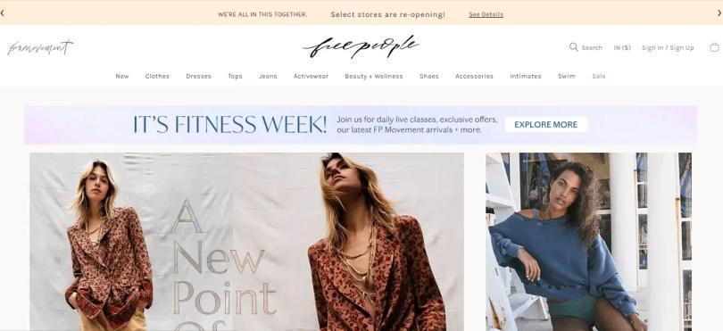 Free People - Women's Boho Clothing & Bohemian Fashion