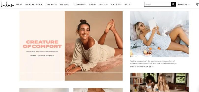 Lulus - Clothing company