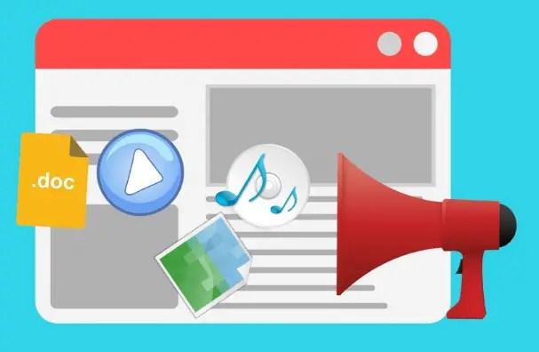 Visual content vs. videos