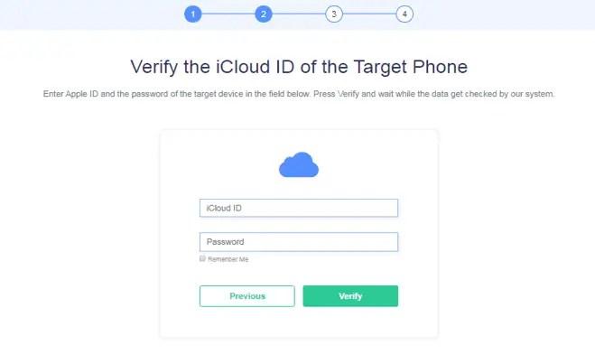 Verify iCloud Id