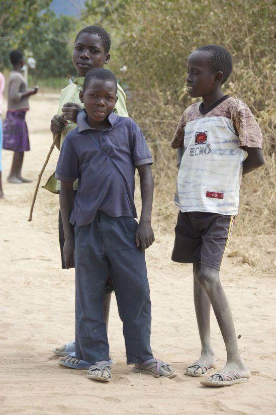 Uitrusten in Malawi kan zelden zonder publiek