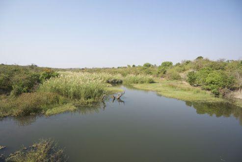 Zodra je wat water tegenkomt ziet het land er gelijk zo anders uit