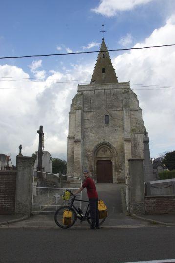 Jurjan voor nog maar weer eens een Franse kerk met zo'n leuk torentje