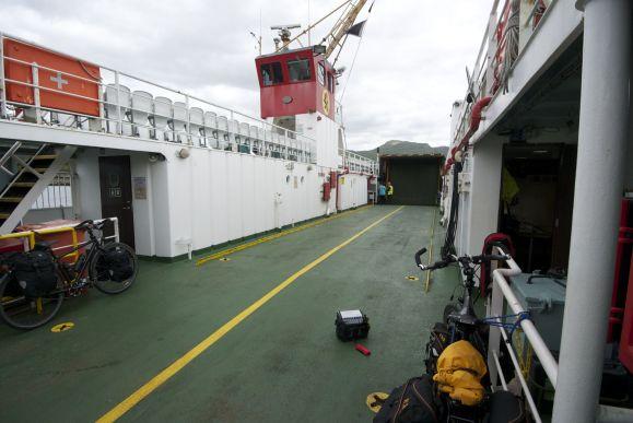 Bijna een privé ferry!