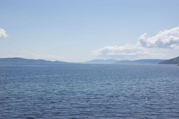 De zee is zelden ver weg...