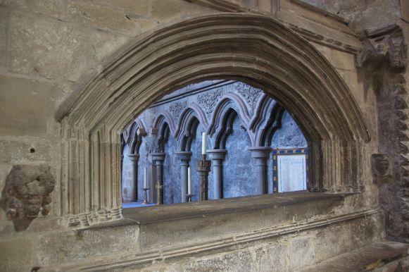 doorkijkje in de abdij