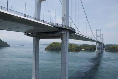 De bruggen tussen de eilanden zijn soms enorm!