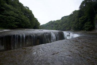 Fukiwarenotaki, de waterval is best groot, maar lastig te zien. Maar het was een leuke wandeling door een mooi gebied.