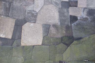 Geweldig hoe die stenen in elkaar gepast zijn.