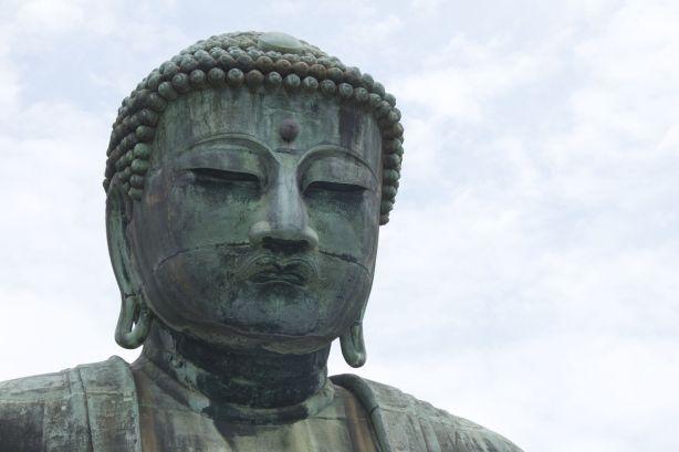 De grote Boeddha van Kamakura.