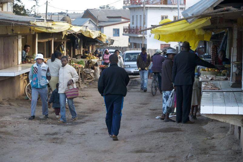Marktje in Ambatolampy