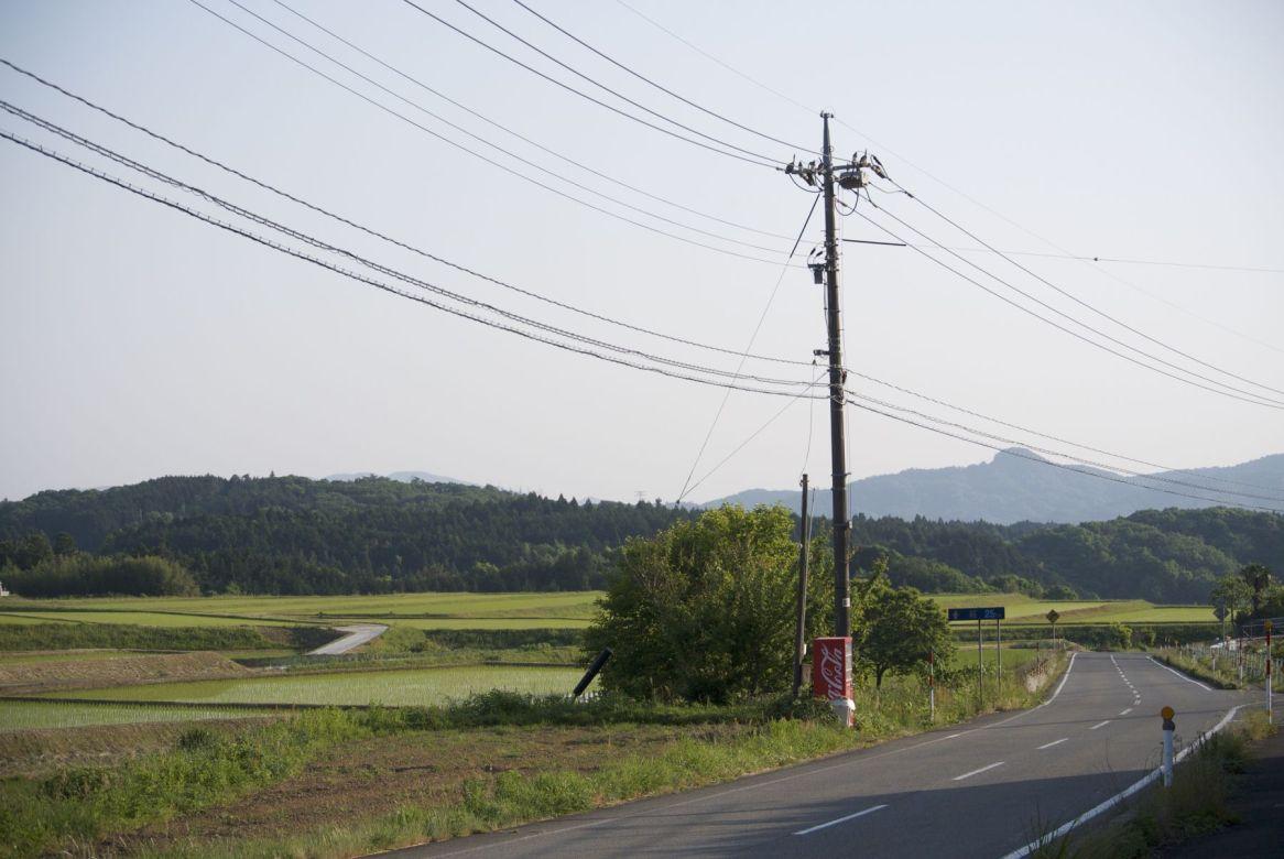 Langs de weg is het vaak een uitkomst. Dorst zul je niet snel krijgen tijdens je fietsvakantie in Japan.