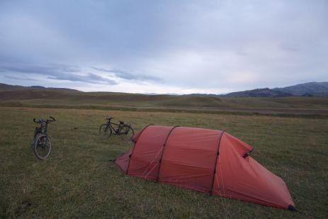 Heerlijk dat je hier zo makkelijk kunt wild kamperen.