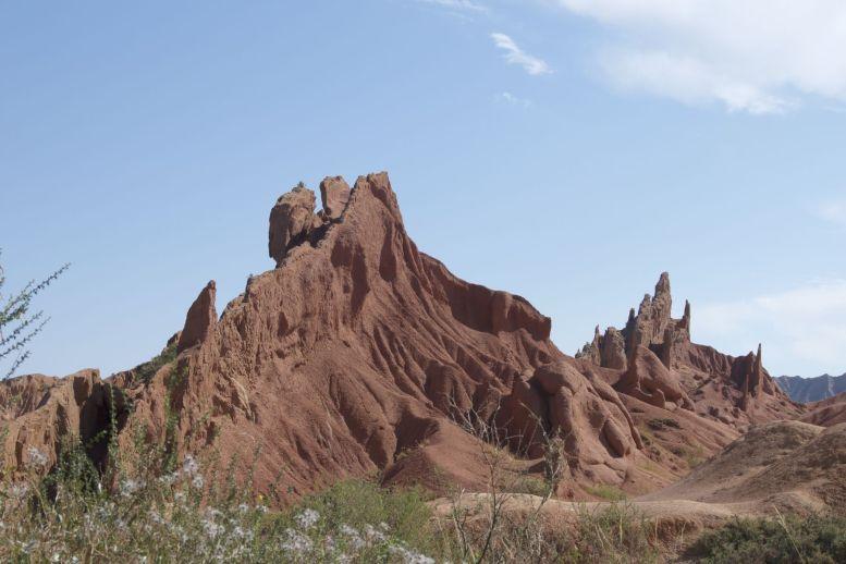 De grillige vormen in Fairytale canyon zijn prachtig.