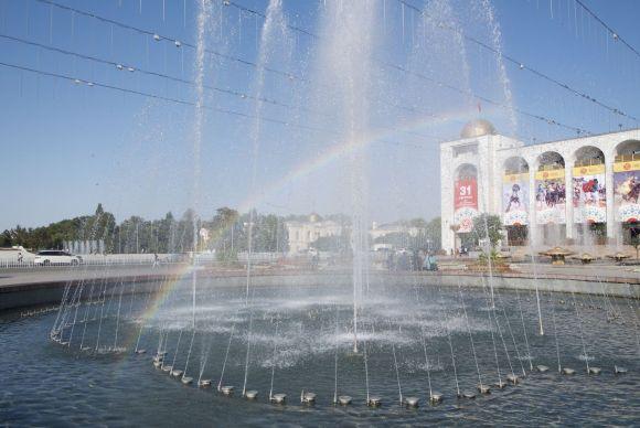 Ze zijn hier dol op fonteinen!