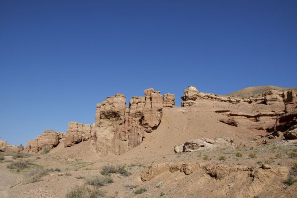 Prachtige canyons op onze route.