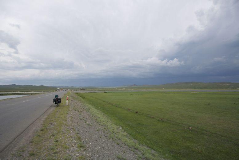 Dankbaar voor de wolken, maar we gaan wel erg richting het grijs.