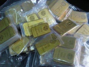 ini adalah contoh bar emas atau gold bar