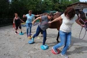 Pferdegestützte Übung Deutschland