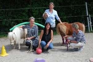 Ein Team in der Ausbildung zum Pferdegestützten Coach