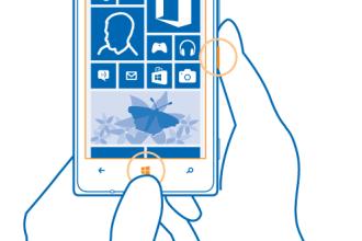 how to take a screenshot of your Lumia smartphone juuchini