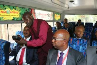 KENYA'S CASHLESS FARE SYSTEM CONSULTING DIGITAL MIGRATION BOOK JUUCHINI