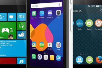 Alcatel Latest Smartphone Runs 3 Operating Systems JUUCHINI