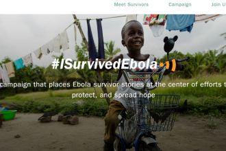 I Survived Ebola Website Mobile App JUUCHINI