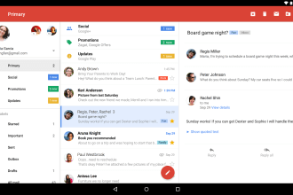 Gmail App Manages Non-Gmail Account On Android OS JUUCHINI
