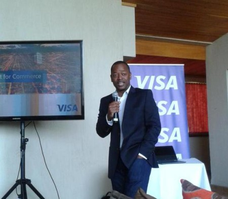 Taurai Tarugarira Addressing Bloggers In Nairobi Kenya