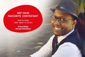 VOTE YOUR FAVOURITE AIRTEL TRACE MUSIC STAR