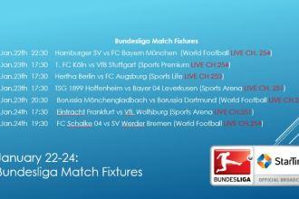 Bundesliga Action Resumes This Weekend on StarTimes TV JUUCHINI