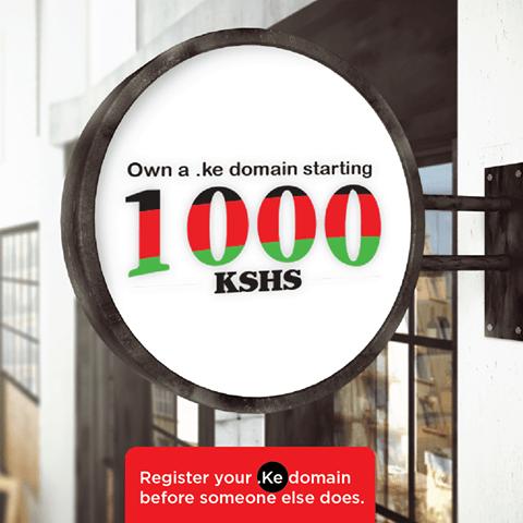 Register .KE Domain Name For Just KES 1000