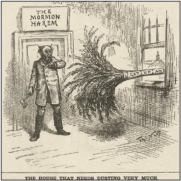 NastT HouseThatNeedsDustingVeryMuch HarpersWeekly 1885Mar28