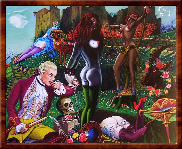 The Paintings of Clovis Trouille: ClovisTrouille010.jpg