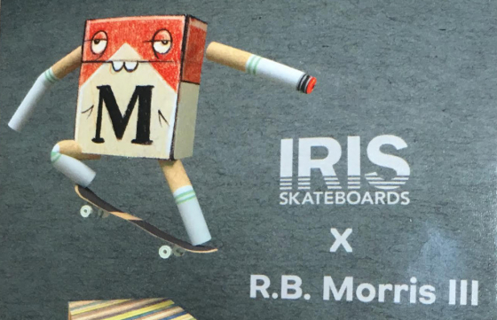 Iris Skateboards and R.B. Morris III at Nowheresville SF