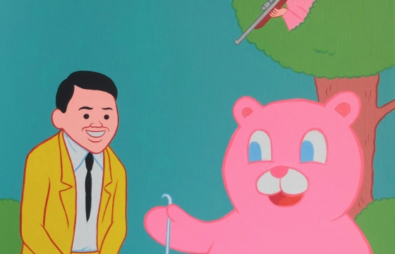 Juxtapoz Magazine - Joan Cornellà Shows New Painfully Funny Paintings at London's PUBLIC gallery